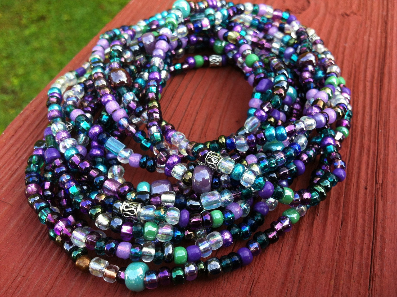 NINA Set of 2 African Waist Beads