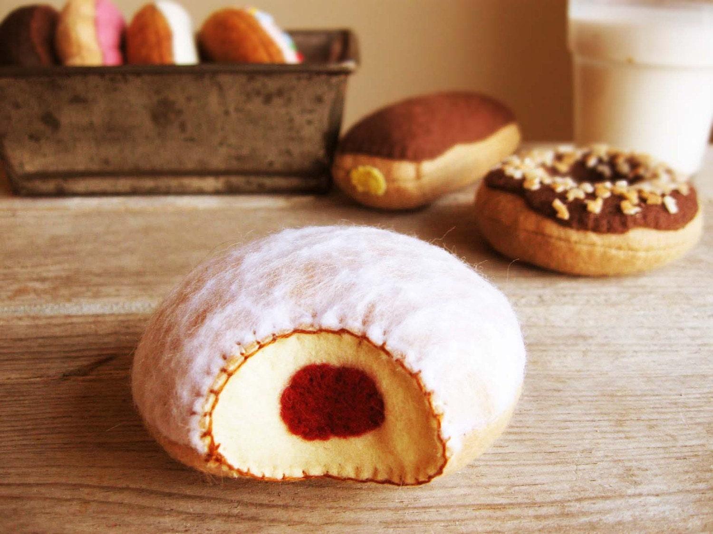 Малиновым желе Donut
