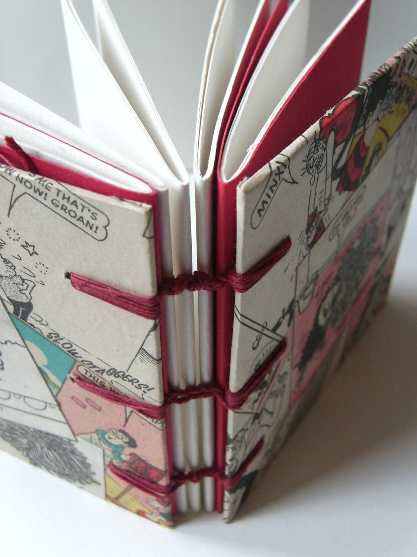 Vintage BEANO comic journal