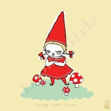 Grumpy Little Gnome