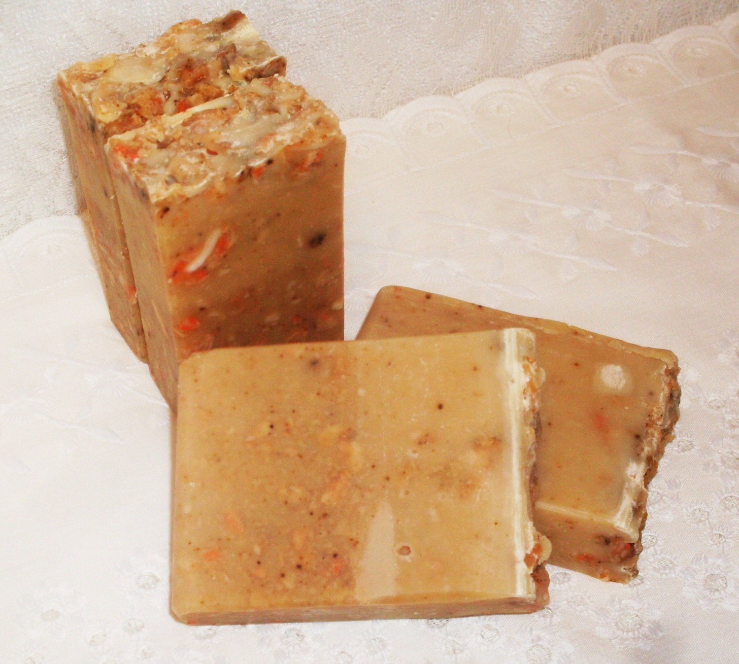 how to cut homemade soap