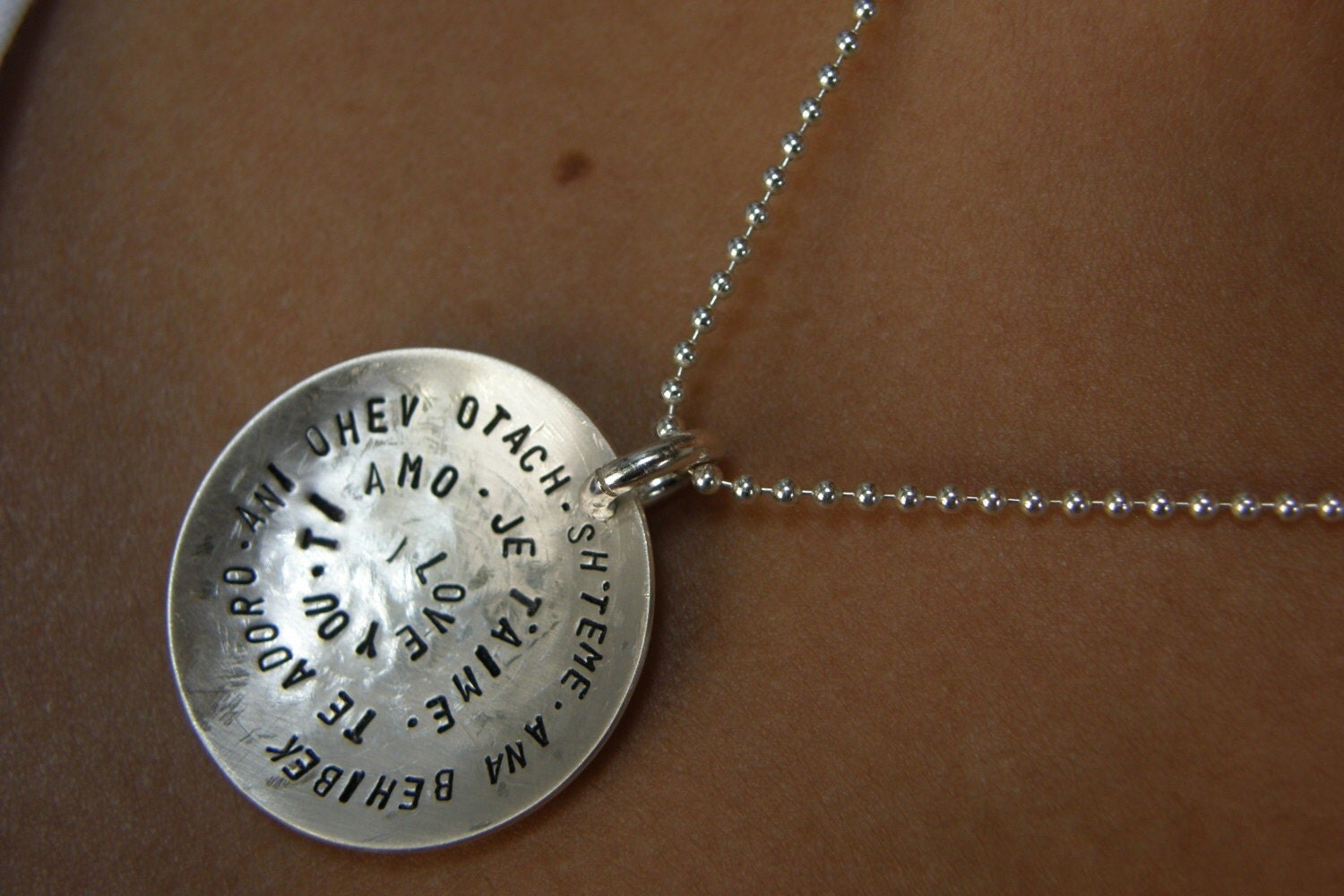 Etsy :: Simag :: Sima's Fine Art Jewelry :  hand stamped simag etsy jewelry