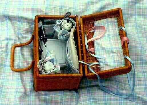 Wedding Gift Picnic Basket