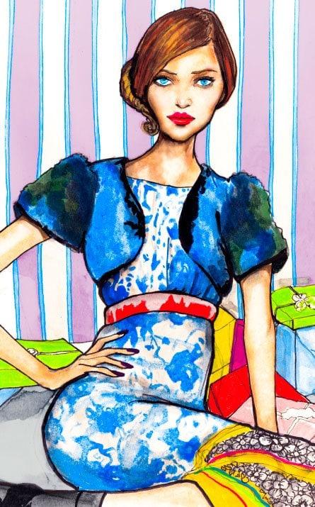 Danny Roberts Art Fashion Prints