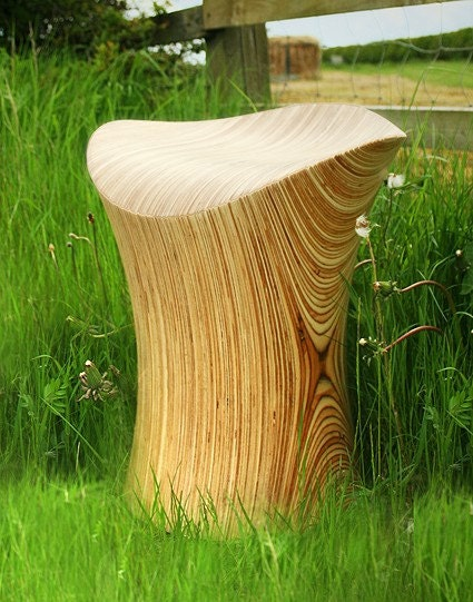Birch Stingray Stool (chair)