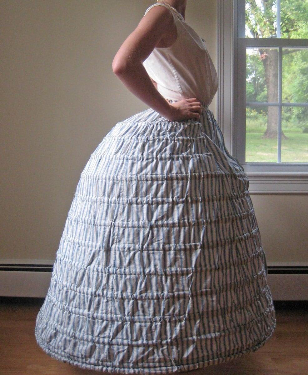 Hoop Skirt Pattern 118