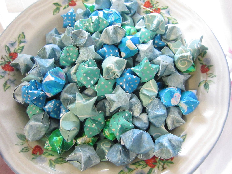 Papel Decadence - Sea Lagoon 180 Origami Stars