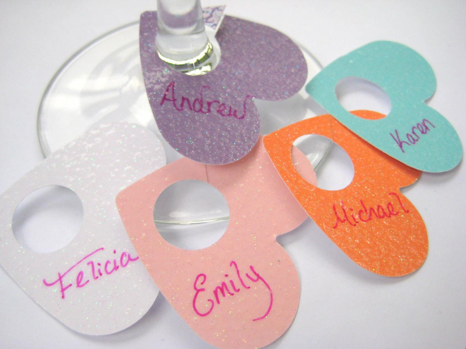 glass tags
