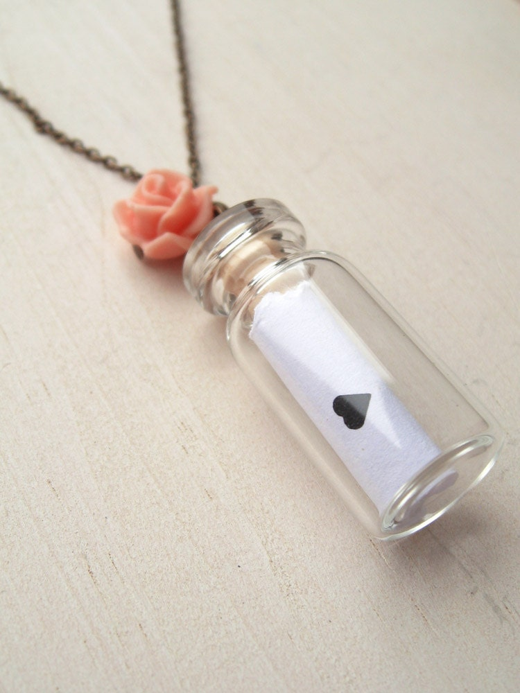 love letter in a bottle by handmadebybluebird on etsy With love letter in a bottle