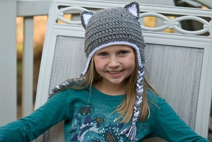 How to Crochet a Hat With Ears | eHow.com