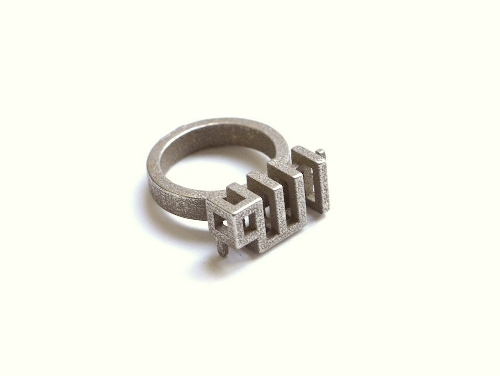 allah ring in stainless steel islamic jewelry eid by