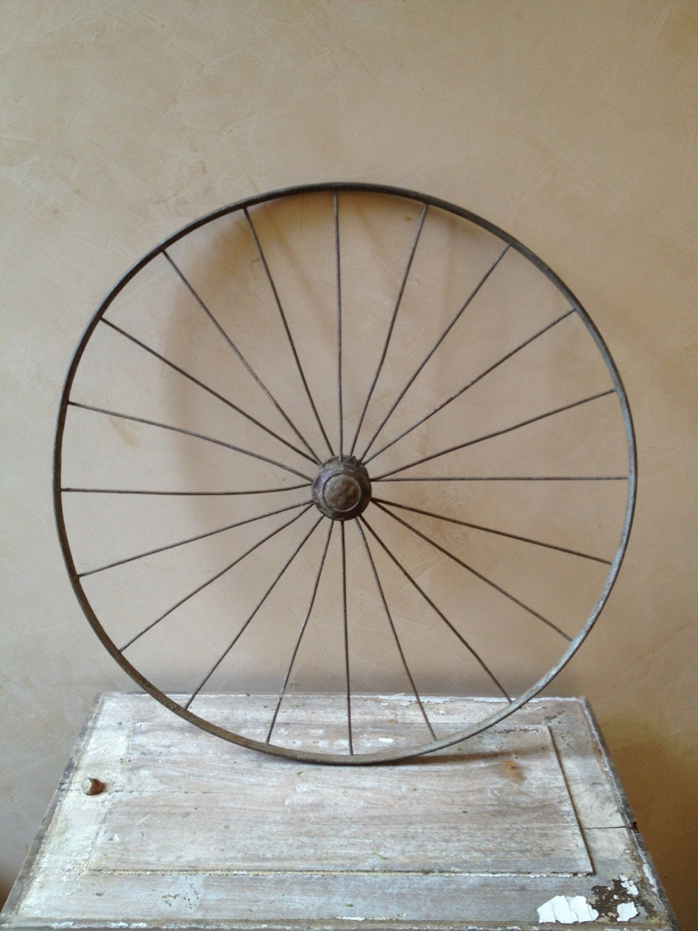 Vintage Cart Wheel - PatinaPosh