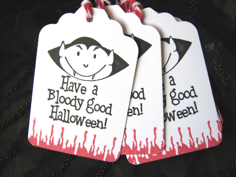 Vampire Halloween Tag