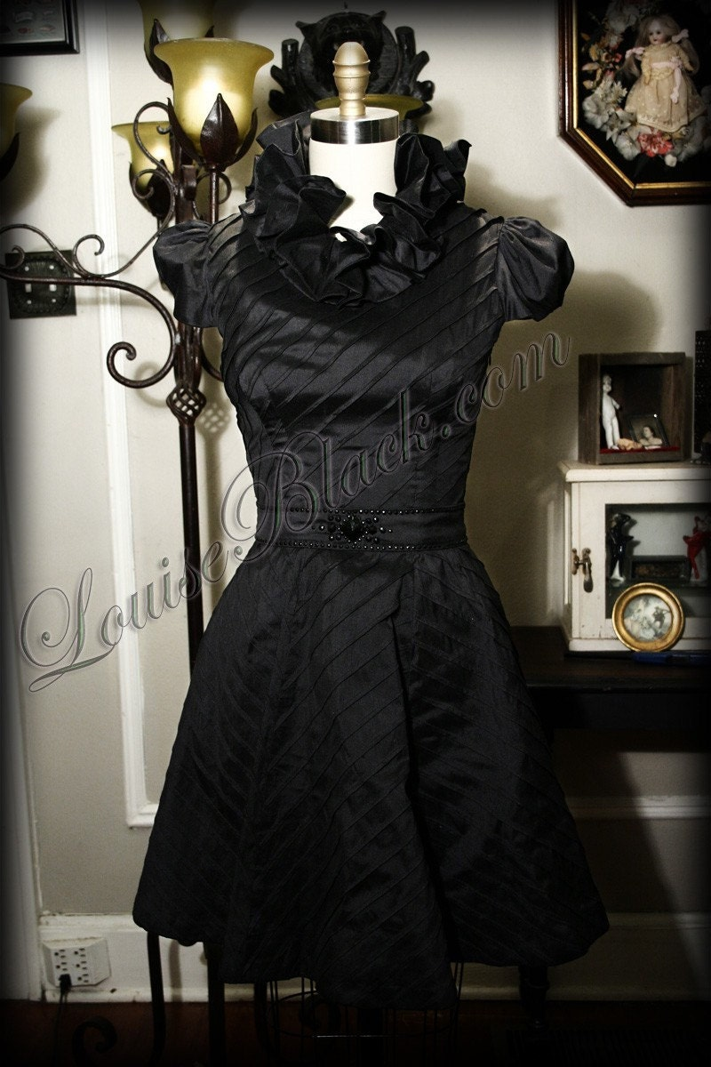 Black Wedding Gown a Must Have