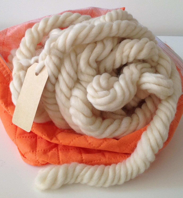 Как свалять толстую пряжу для вязания