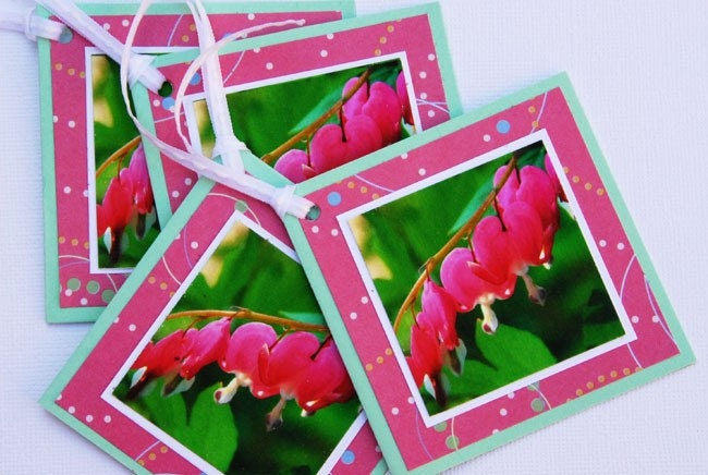 Bleeding Heart Gift Tags