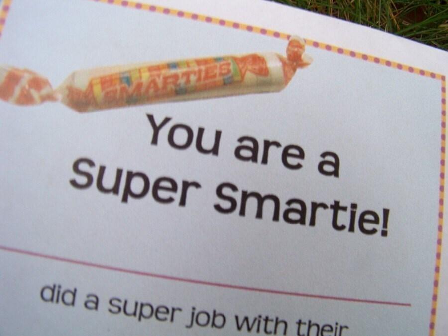 Smarties Graduation Favors | Party Invitations Ideas