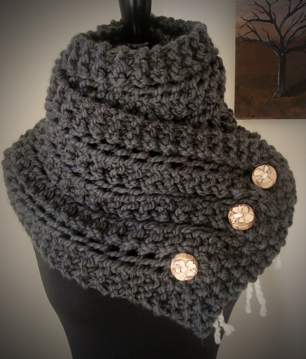 Knitting Pattern Wool Scarf : The Eleanor Scarf Knitting Pattern Featured by AnaidDesigns