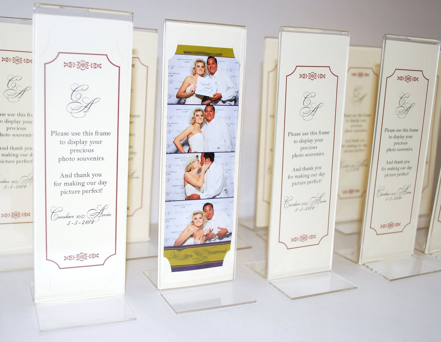 Wedding Photo Booth Frames Favors