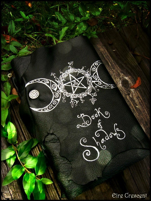 Book Of Shadows Cover Ideas ~ Reserved triple goddess book of shadows by eirecrescent on