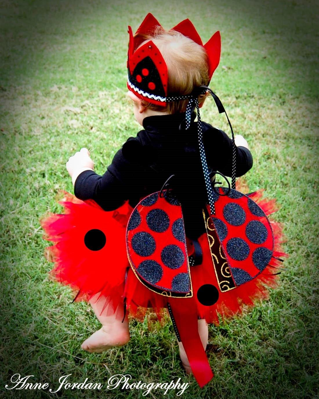 Lady Bug Tutu Costume Baby Toddler