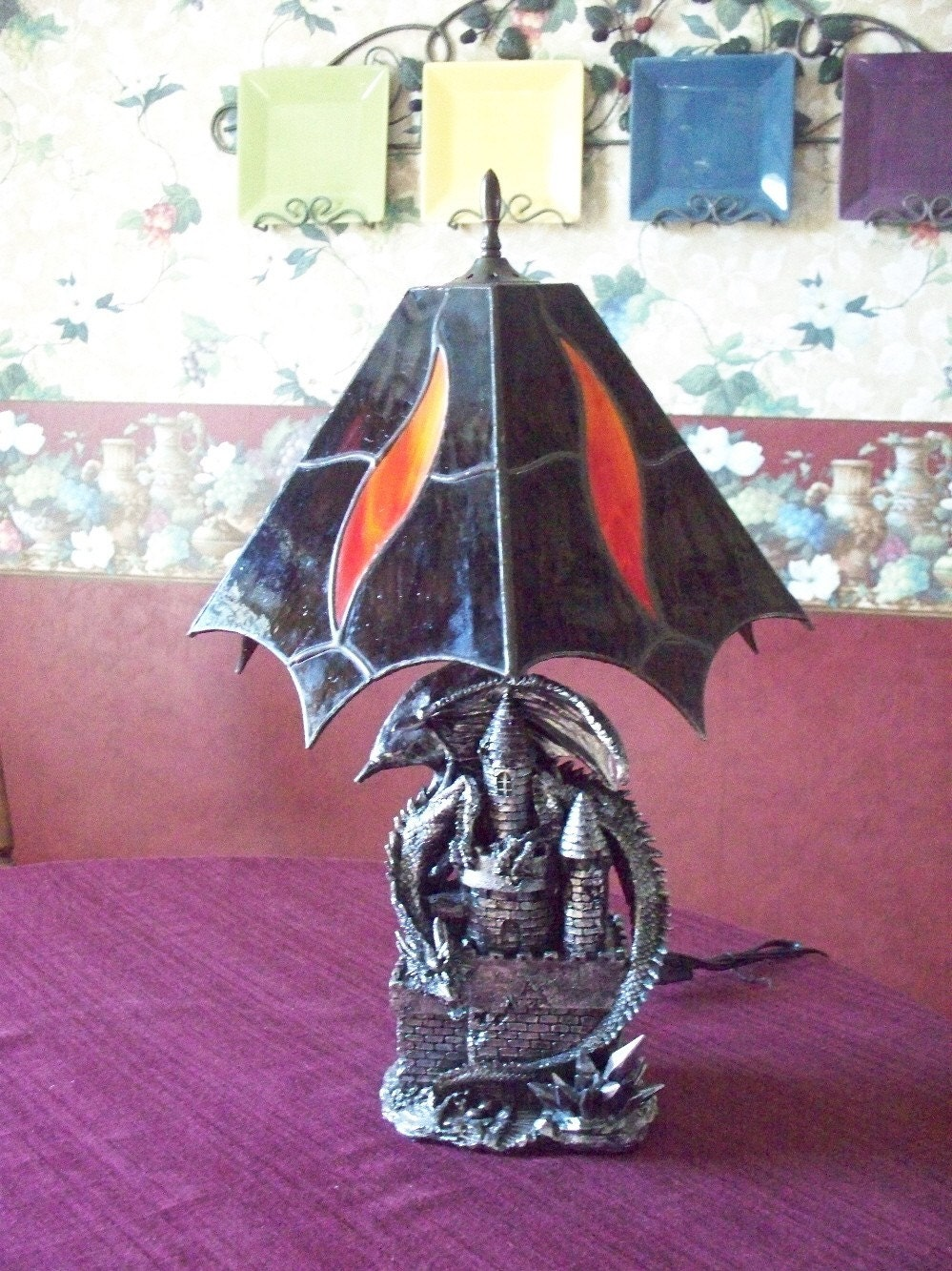 Etsy :: thecoppermine :: Dragon Lamp from etsy.com