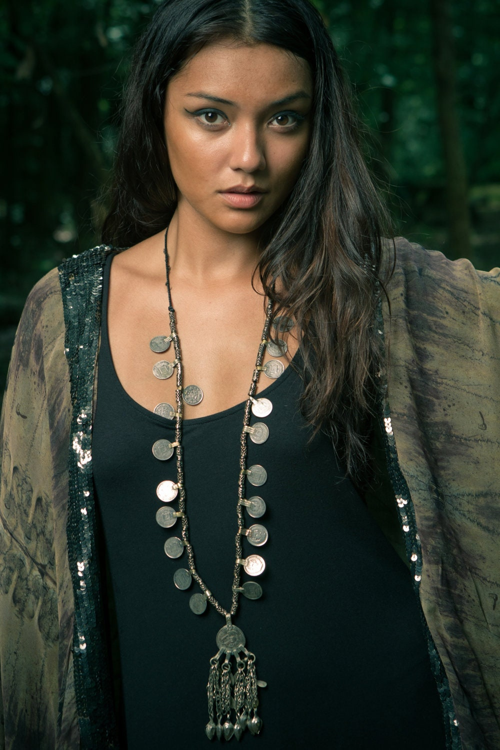 Shaan Kuchi Vintage Coin Necklace