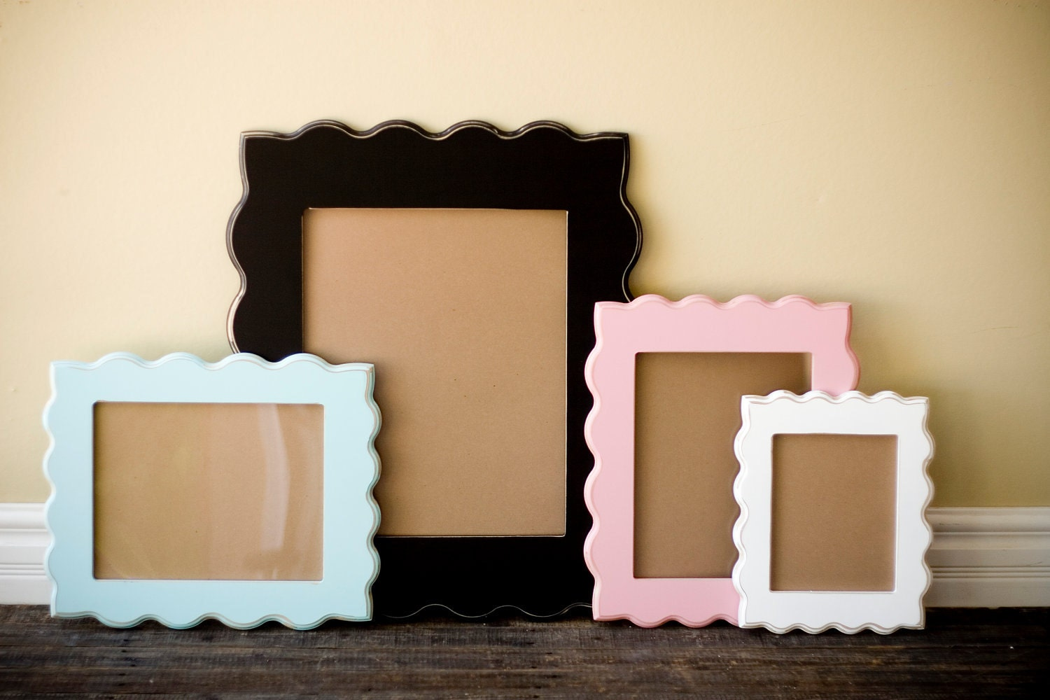 "8x10 whimsical and unique picture frame ""COOPER"""