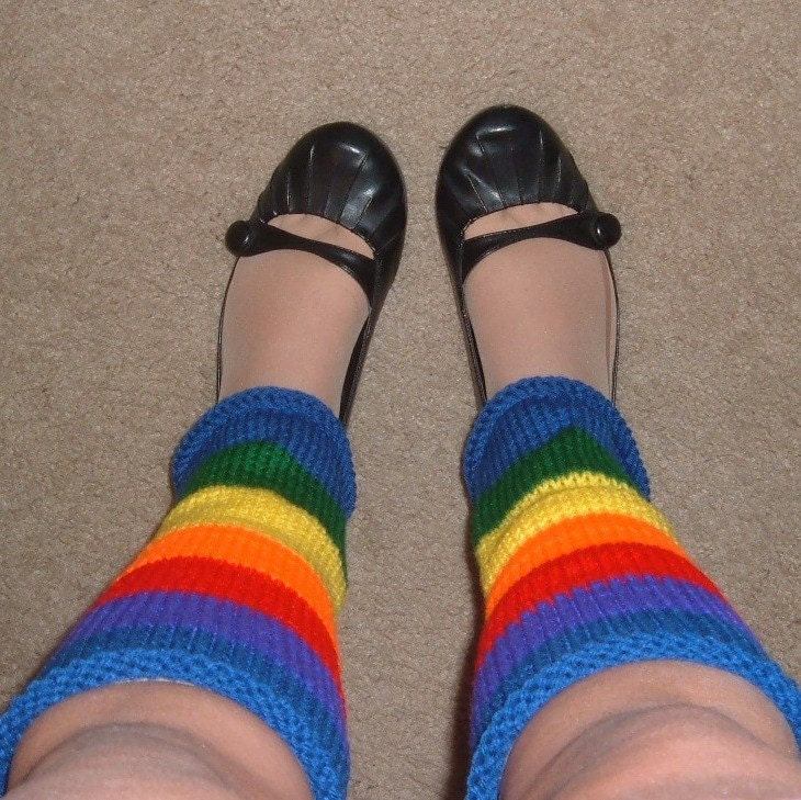 Rainbow Brite - Ladies Leg Warmers
