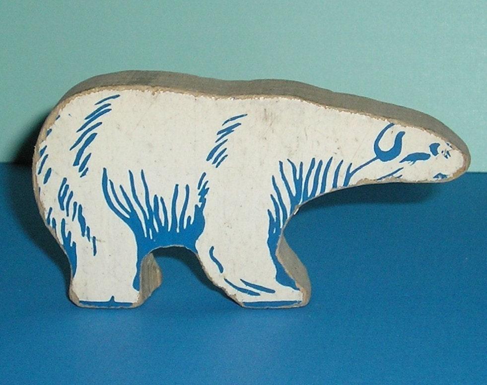 Circle Polar Bear Paper Craft - DLTK-Kidscom