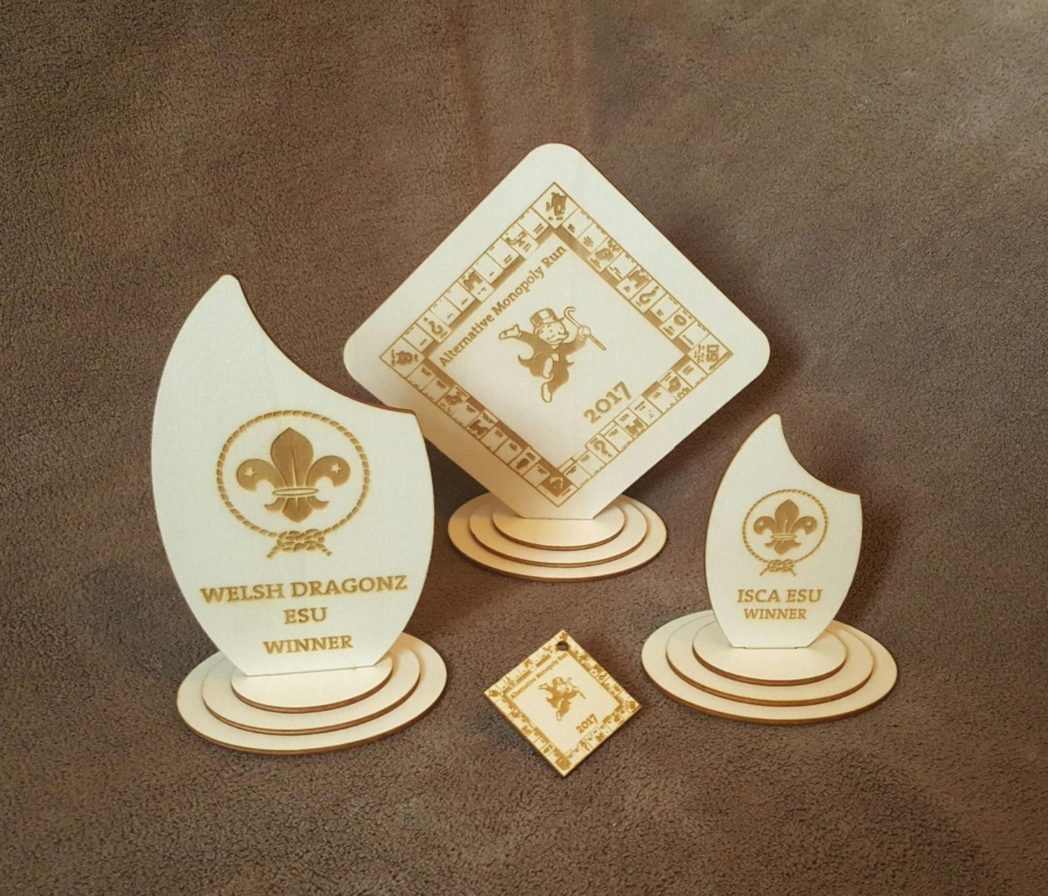 Personalised ScoutGuide Trophies or Medals