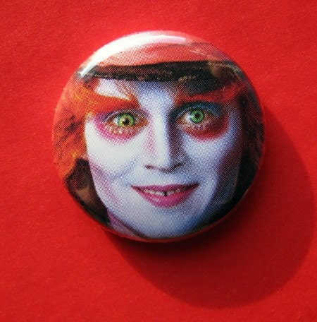 Johnny Depp Mad Hatter Pictures. Johnny Depp Mad Hatter Alice in Wonderland Button. From cowboygoods