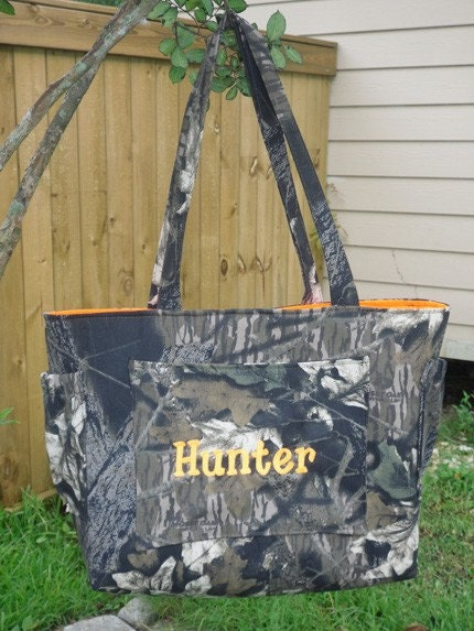 Mossy Oak Camo Camouflage Diaper Bag by LillouHandmade on Etsy