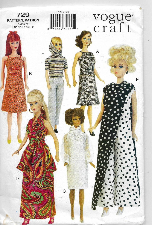 Fashion doll sewing patterns free 77