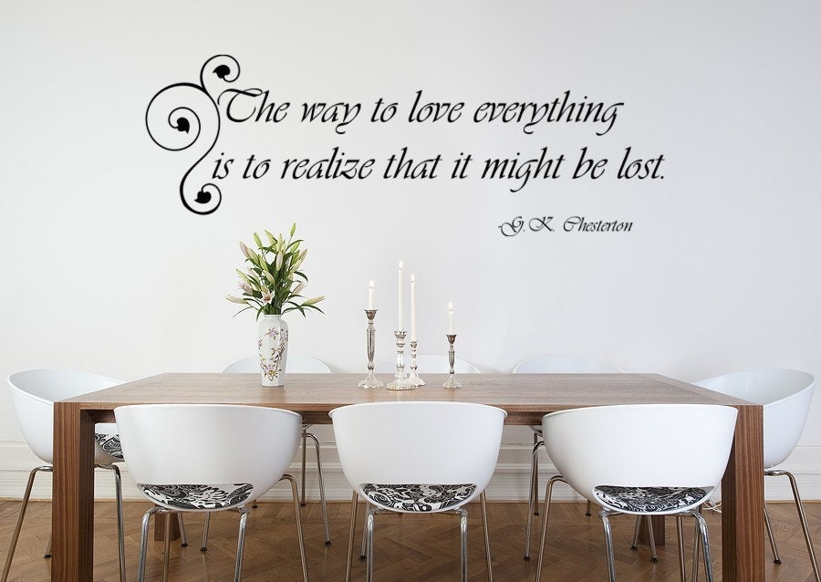 vinyl quotes for walls. Love Lost Quote Vinyl Wall