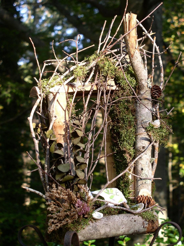 Fairy Garden House Wooden Custom Handmade