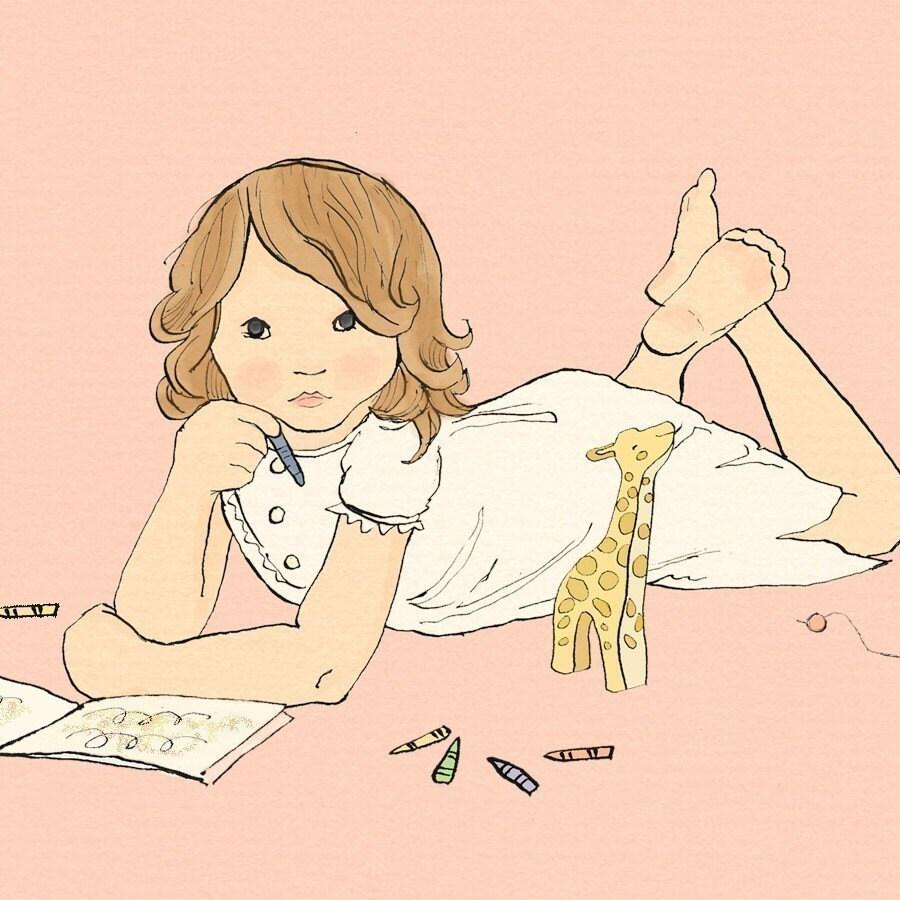 Little artist-pink