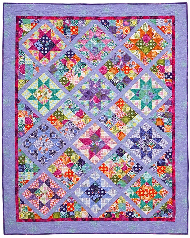 Star Light Star Bright Quilt Pattern By Lnownes On Etsy