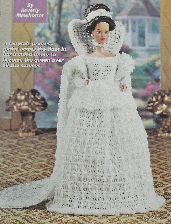 MEDIEVAL BRIDE Fashion Doll CROCHET Pattern Wedding by M2Hawk