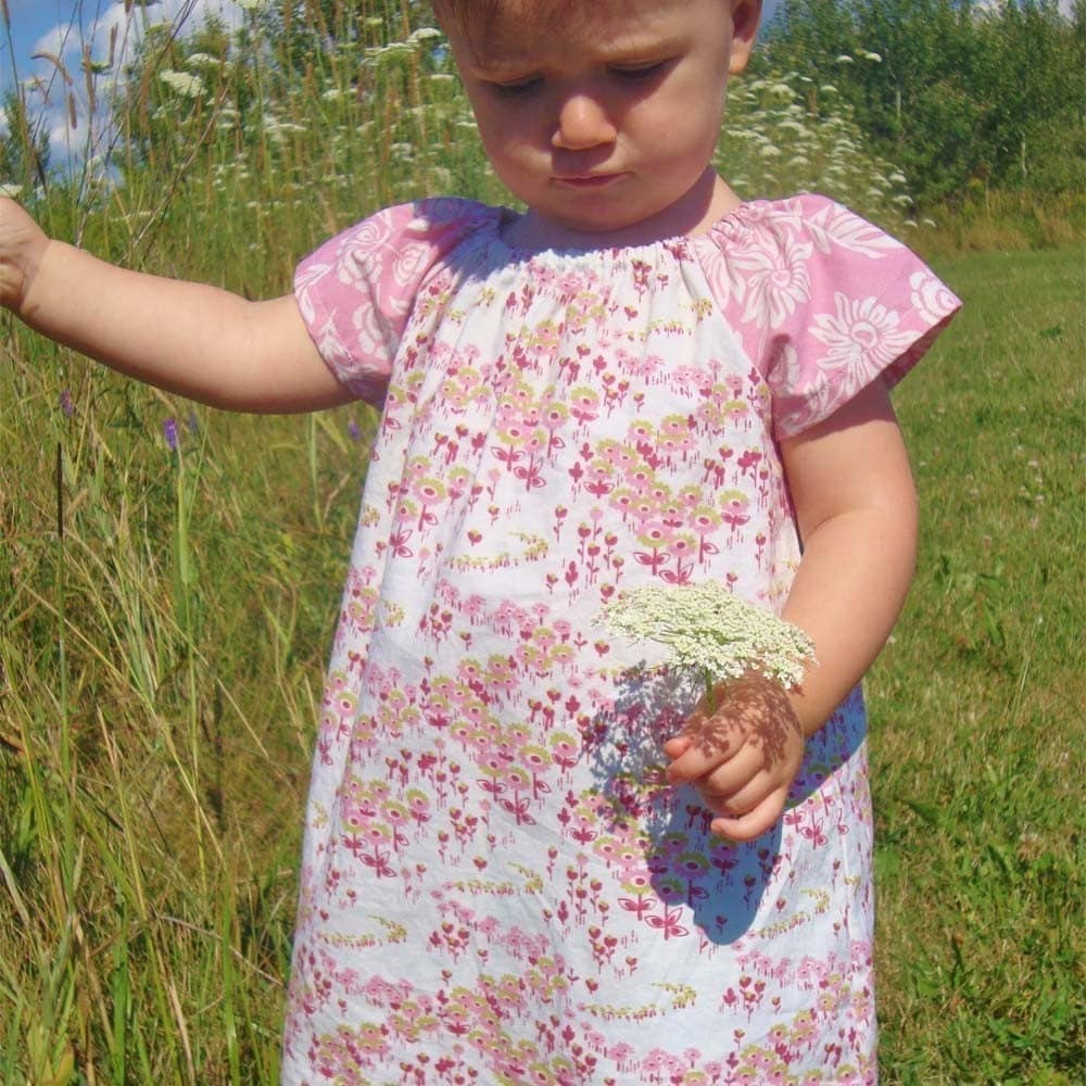 The Bella Dress- PDF Pattern, Size 6M-5T , mamastellato