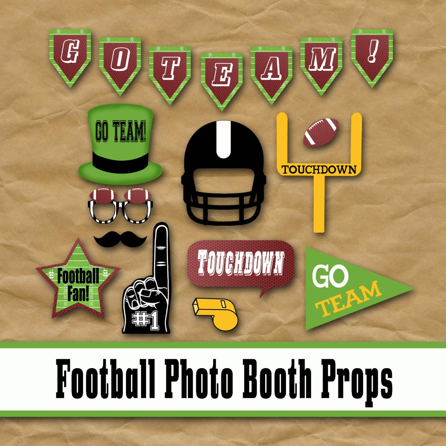 texas photo booth props  79819