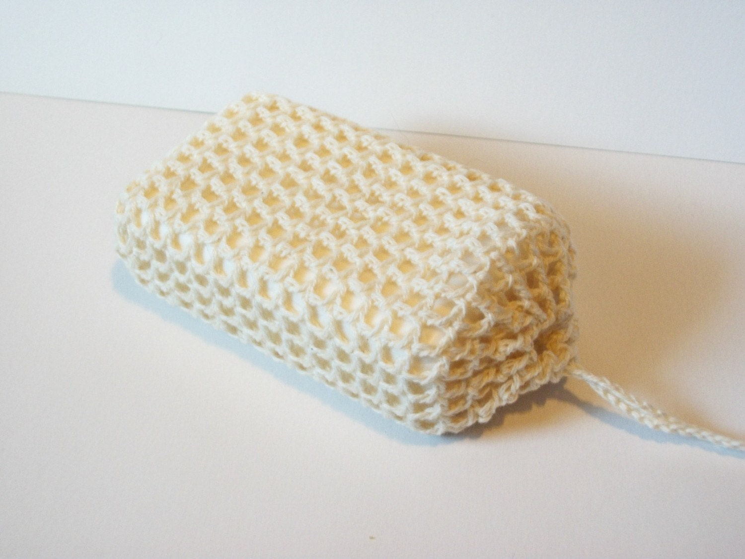 Cute Little Crafts: Crochet Net Soap Saver and Body Scrubber