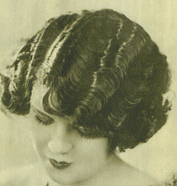 1920s · bobs · ladies' hairstyles · waves