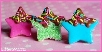 Choco Candy Star Rings