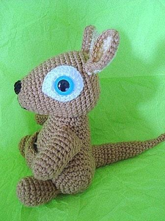 Mini Minion Amigurumi Pattern : Amigurumi Skippy the kangaroo PDF crochet pattern by ...