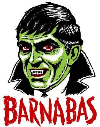 Barnabas Collins - Mani Yack Monster - Iron On Transfer