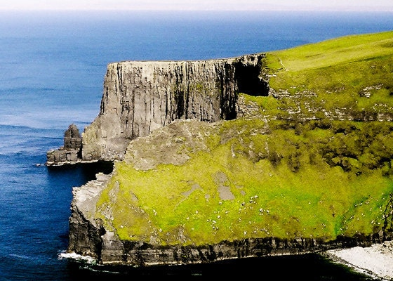 Ireland Cliffs Photography Moher Nature Landscape Fine Art Photo 5 x 7 Wall Art Photograph - Celticcatphotos