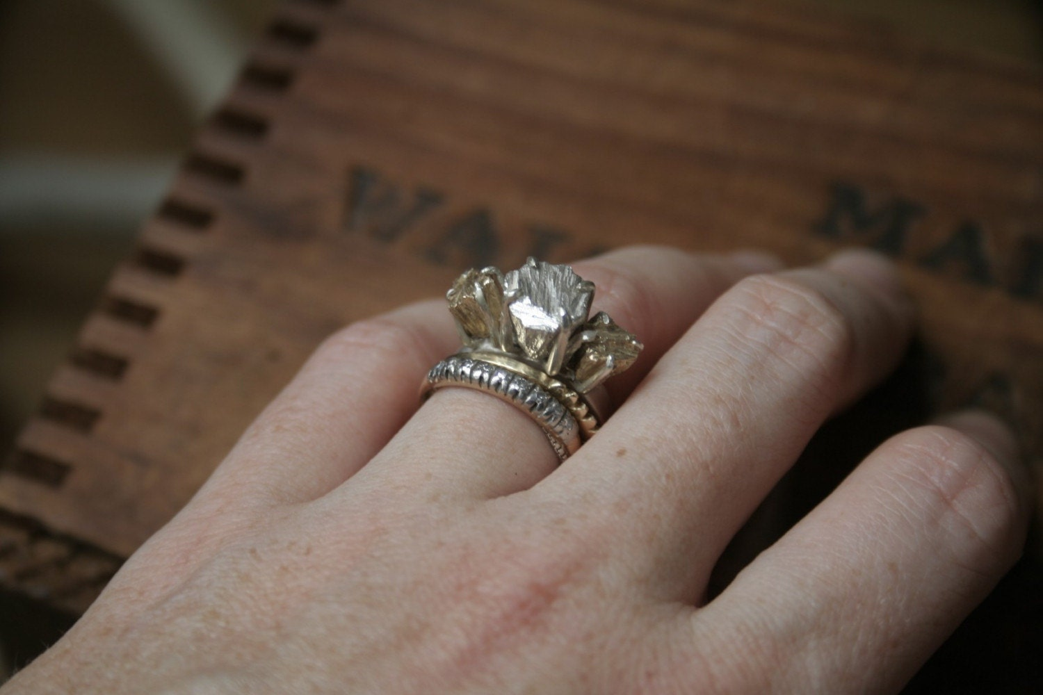 the jagger rockwell ring - Alternative Wedding Rings