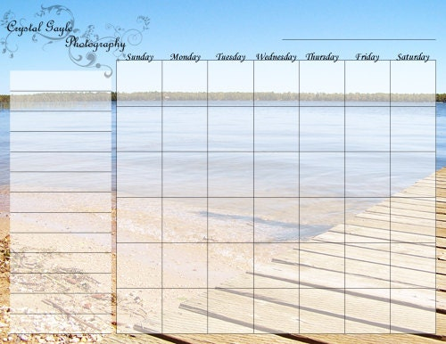 Reusable Monthly Calendar : Dry erase magnetic calendar reusable business by