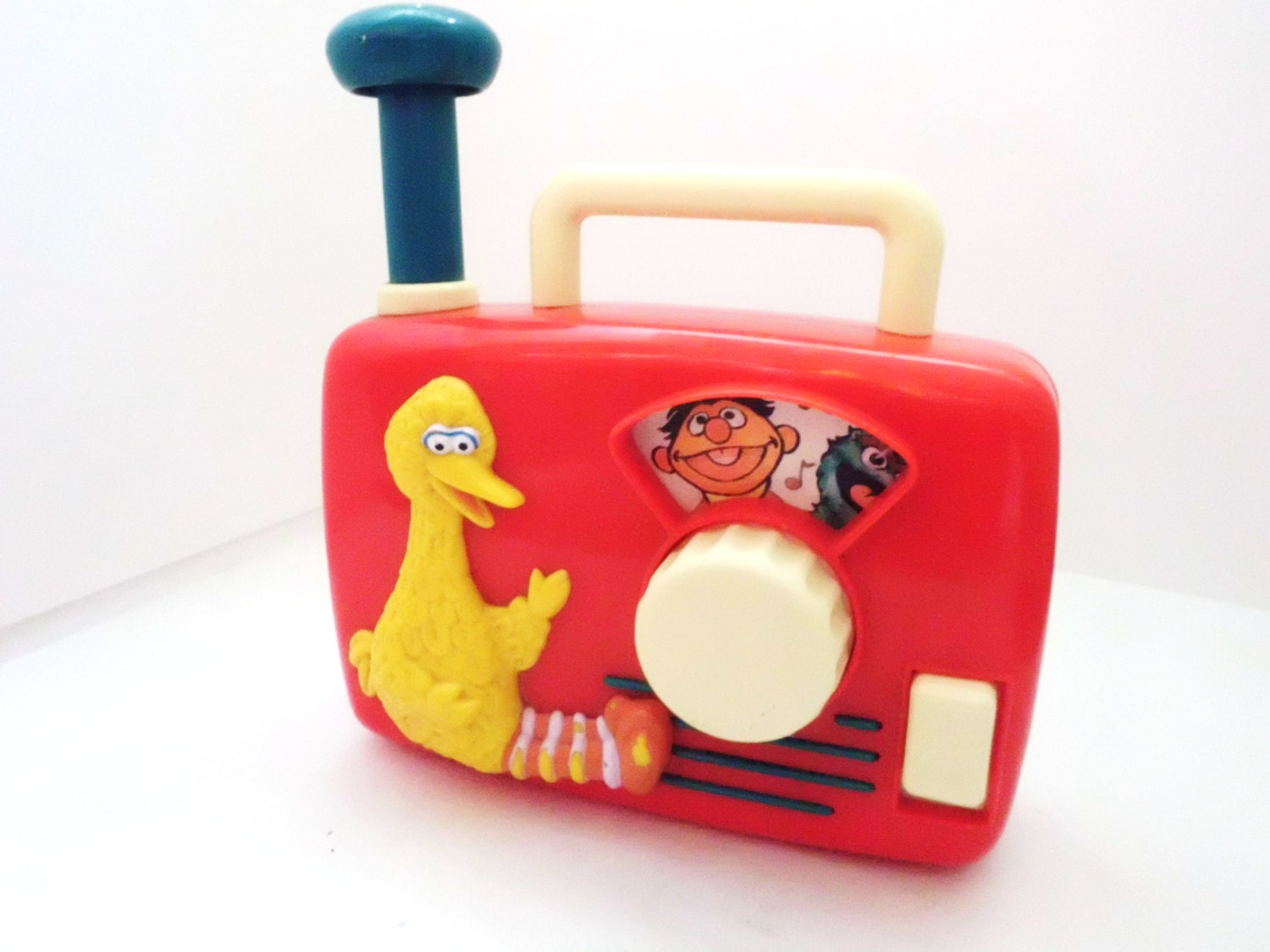 1990s Music Toys : Vintage sesame street wind up music box by timelesstoybox